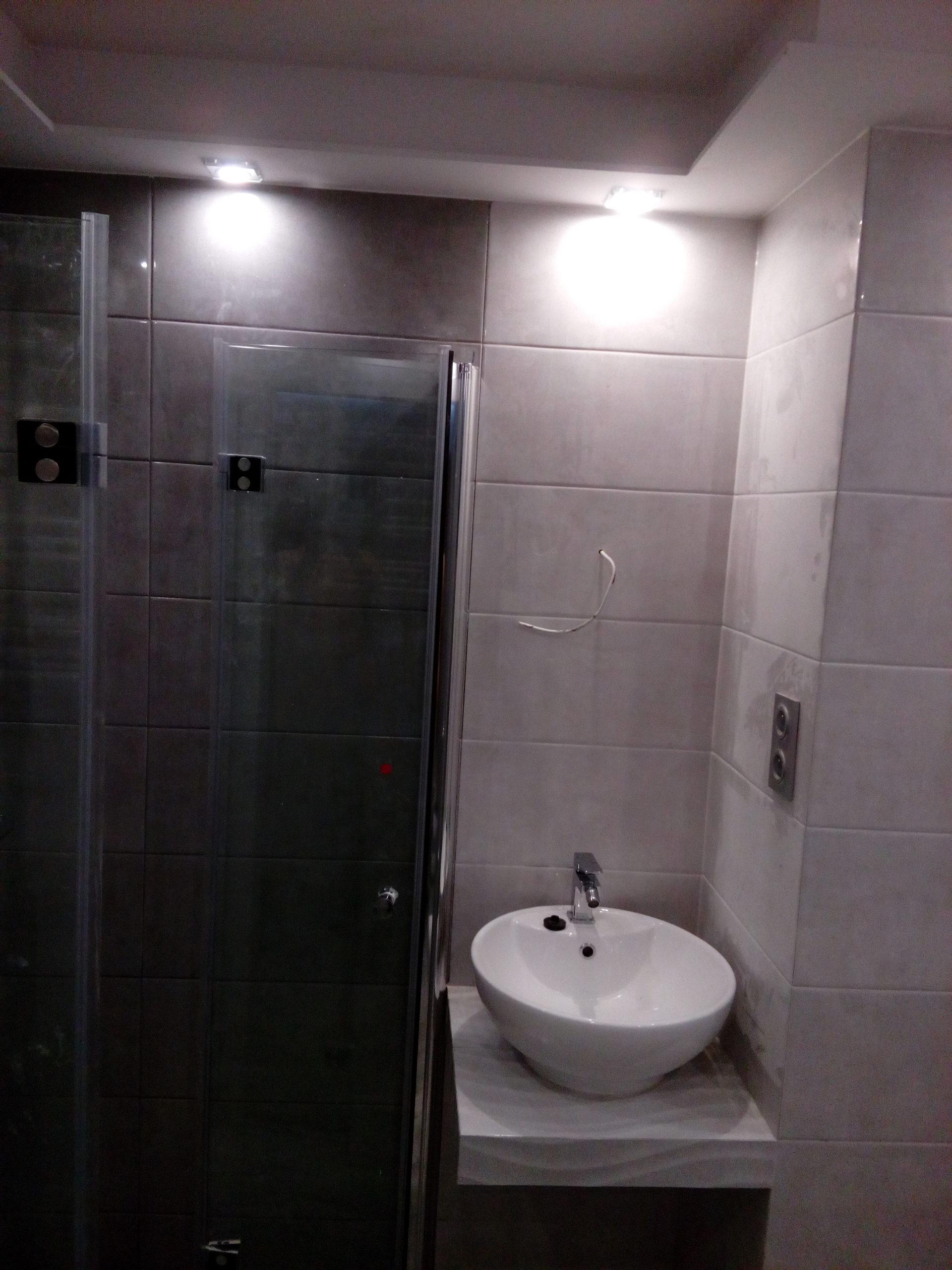 Podświetlona łazienka LED